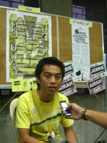 Boto ni Isko 2008 Update: ISA BC rep bets speak on college issues