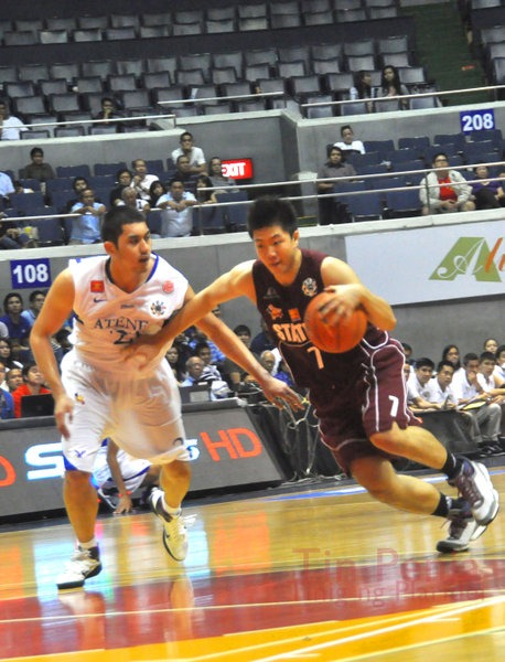 Maroons collapse early against Eagles, 78-53