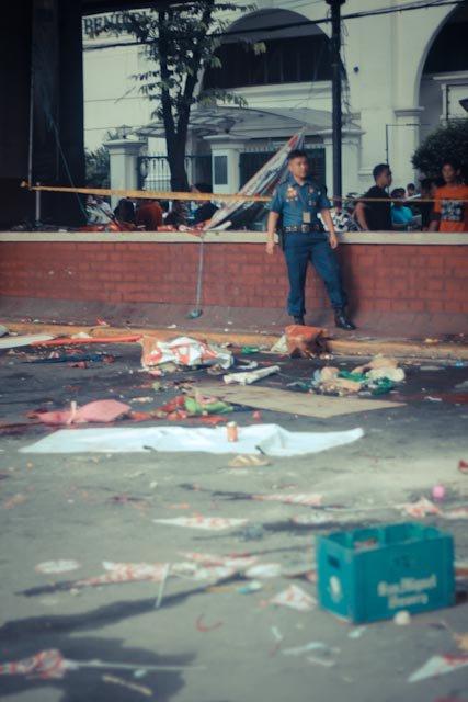 Blast mars last bar exam day; 1 UPD undergrad injured