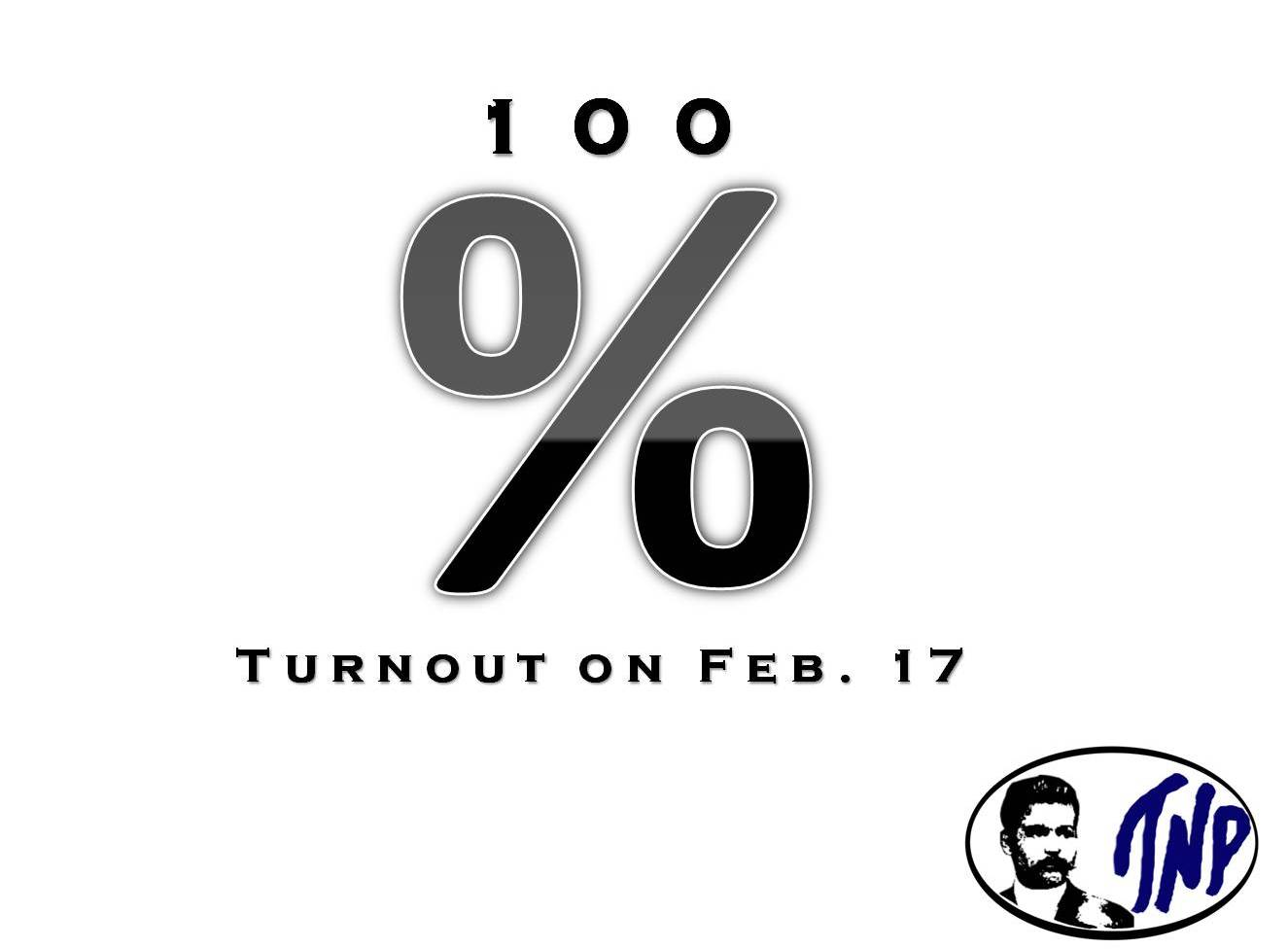 The Sign of the Times: Pushing for a 100% CMC Voter Turnout