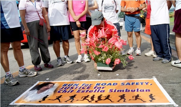 Simbulan family leads run for justice, safer roads