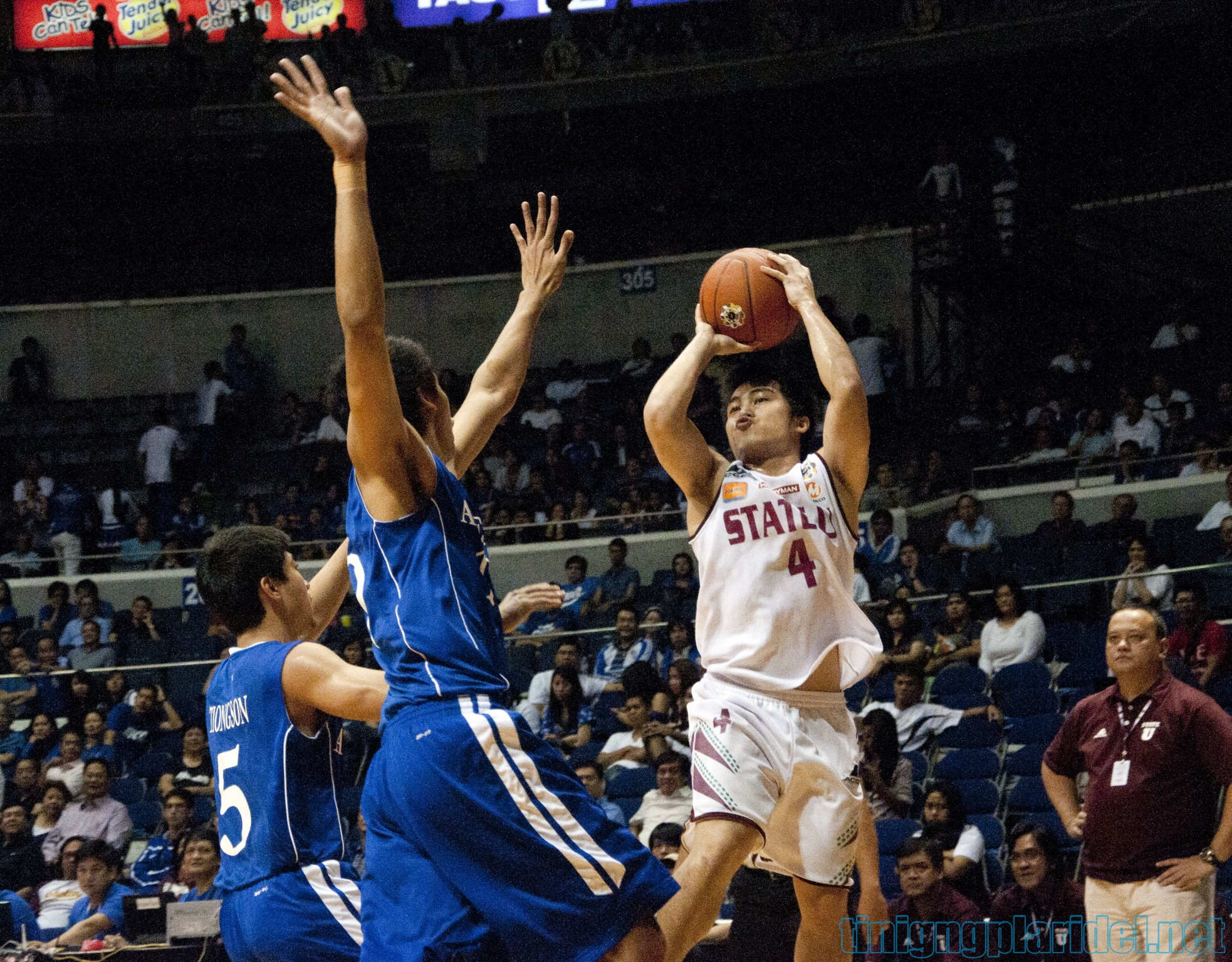 Ateneo batters UP behind Slaughter's double-double