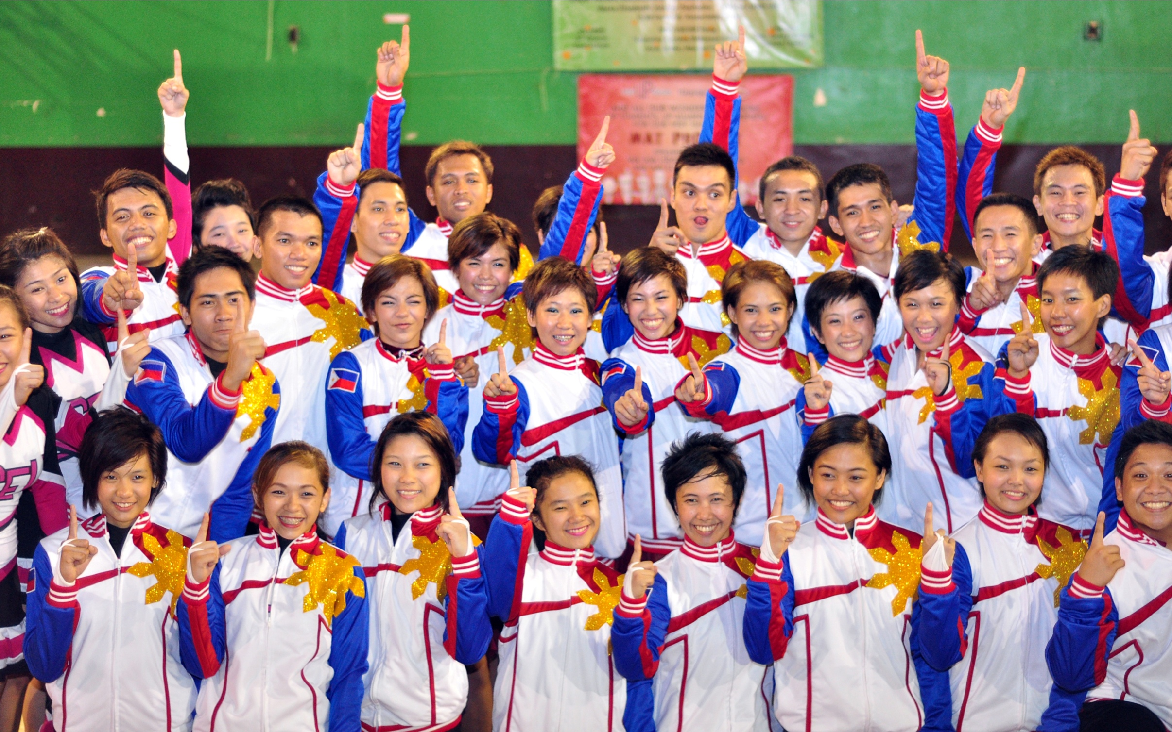 Team Philippines places third in world cheerleading tilt