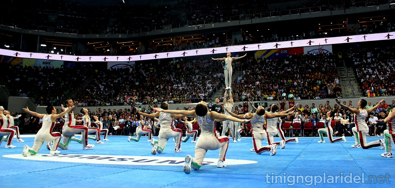 """UP Pep Squad grabs 8th cheer dance title with """"freedom"""" routine"""