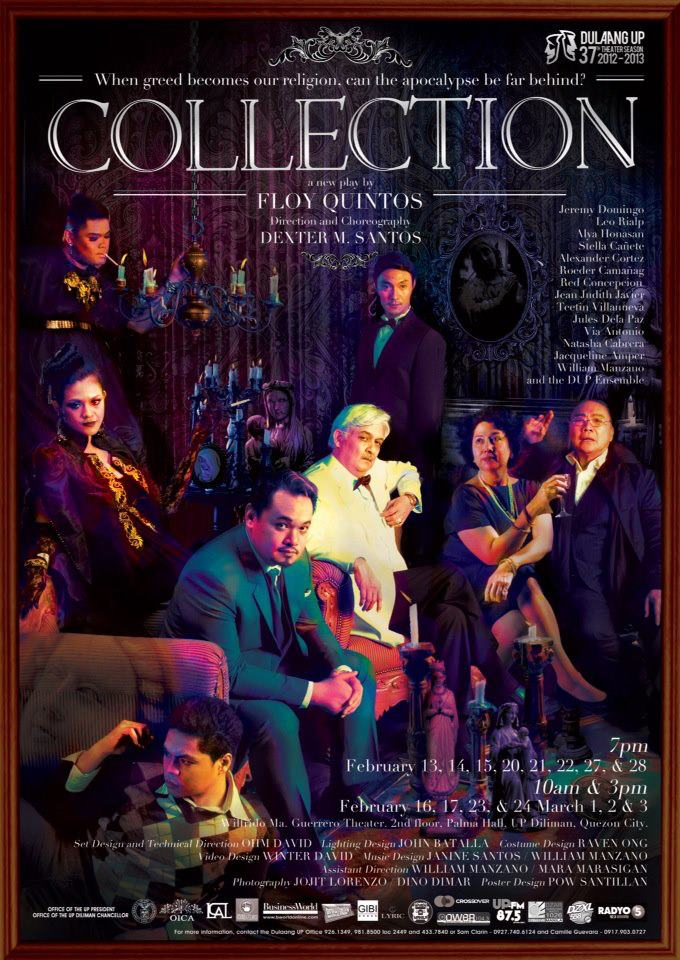 Greed as Religion: A Review of Dulaang UP's Collection