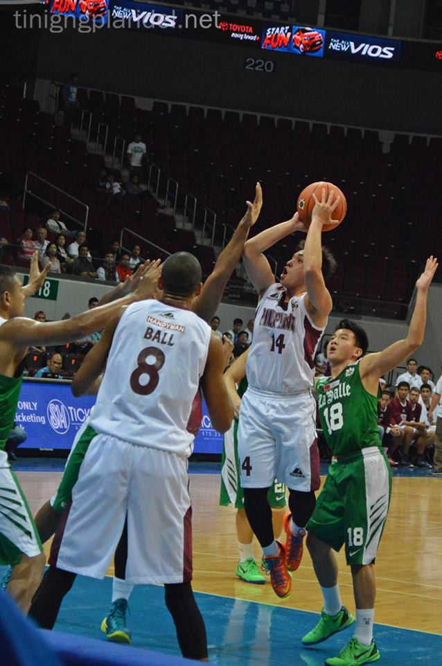 UP suffers second straight double digit loss to DLSU