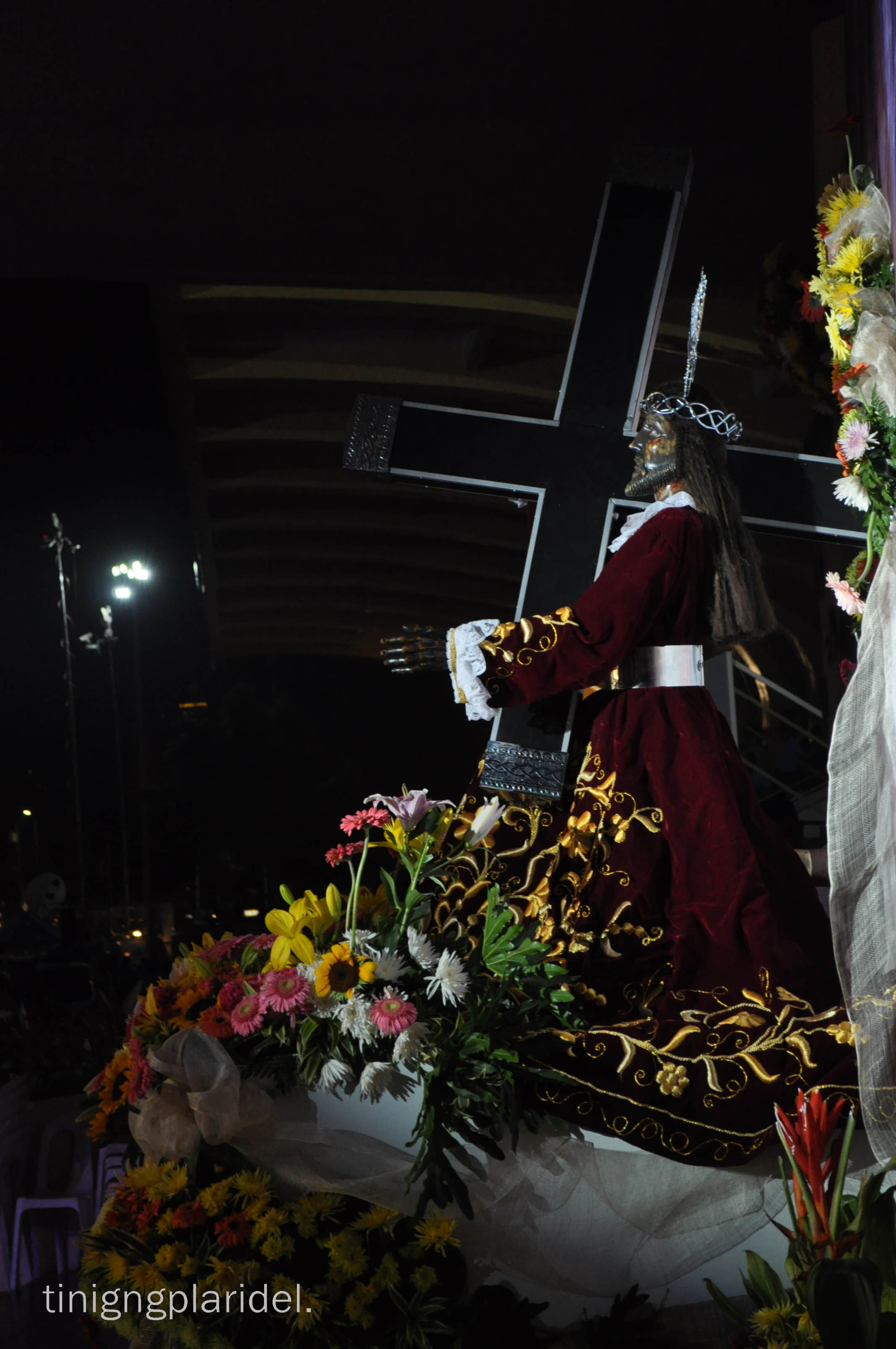 Moving pictures: the Nazareno crowd