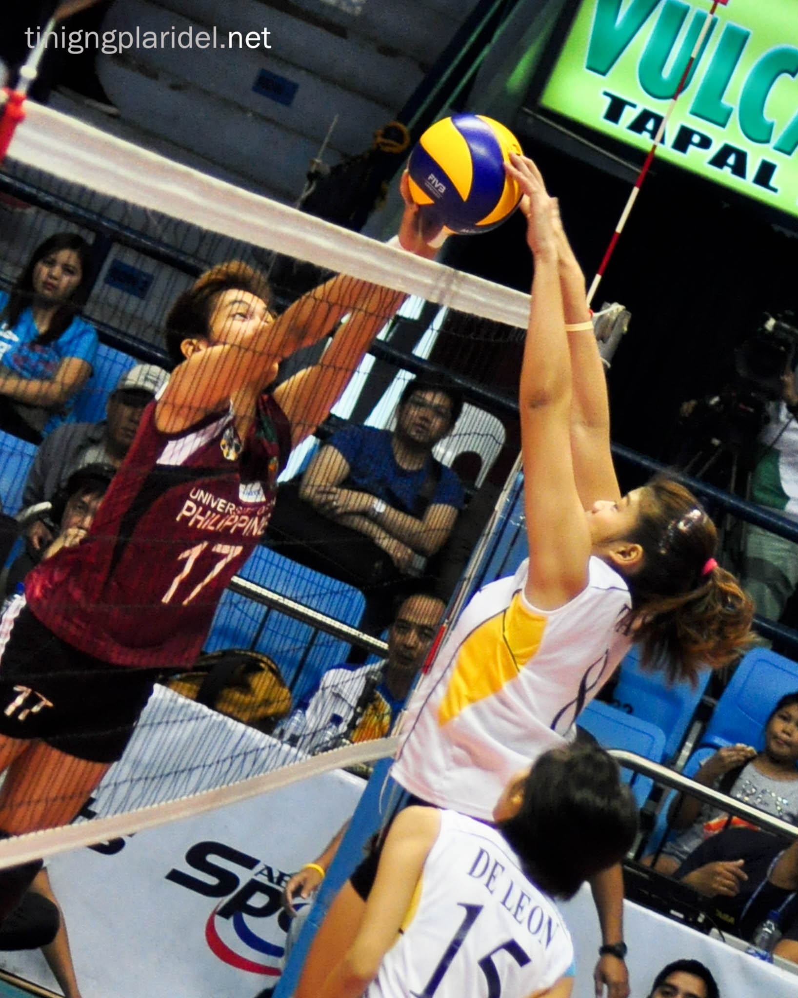 Lady Maroons out of UAAP Volleyball final four