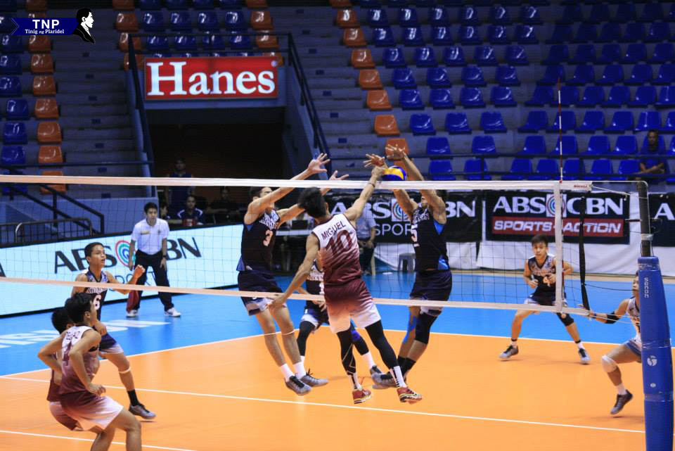 UAAP |Maroons bow down to Falcons, 1-3
