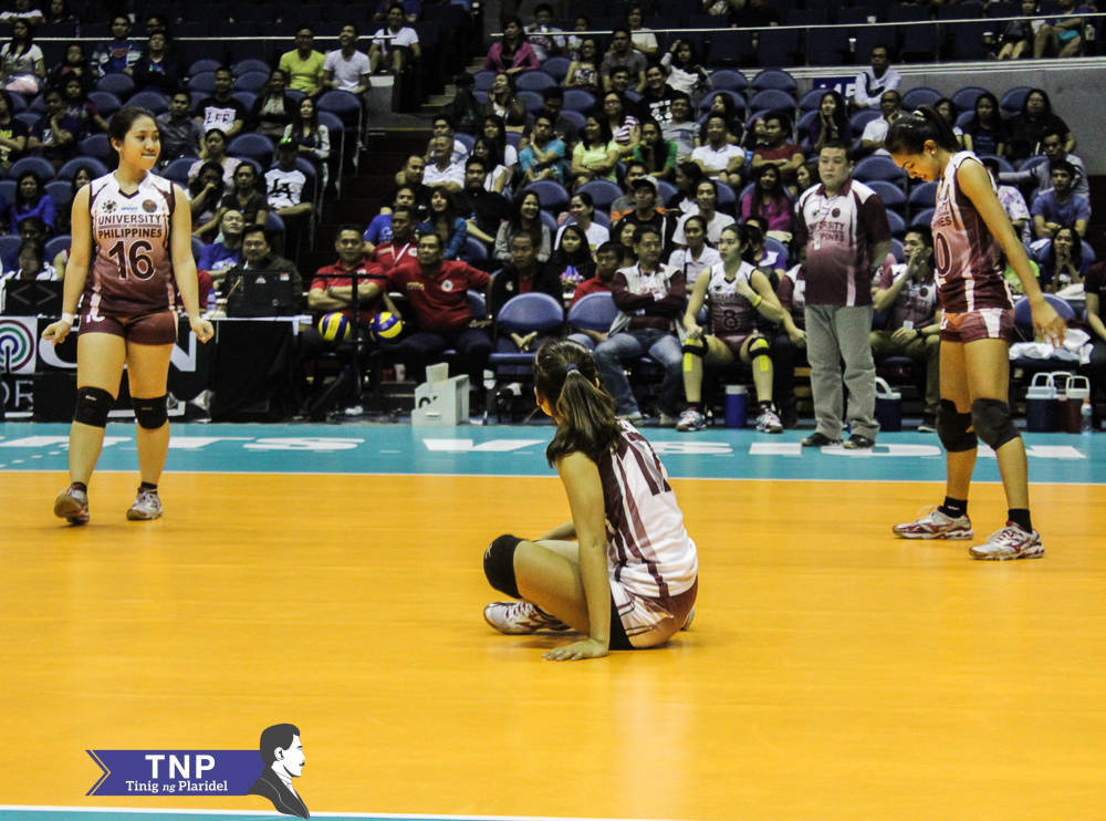 UAAP | Lady Maroons succumb to Lady Bulldogs, 2-3
