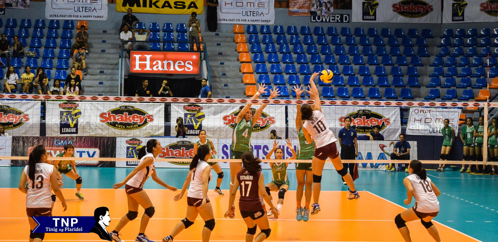 UP finishes V-league stint on a high note, overwhelms DLSU-D