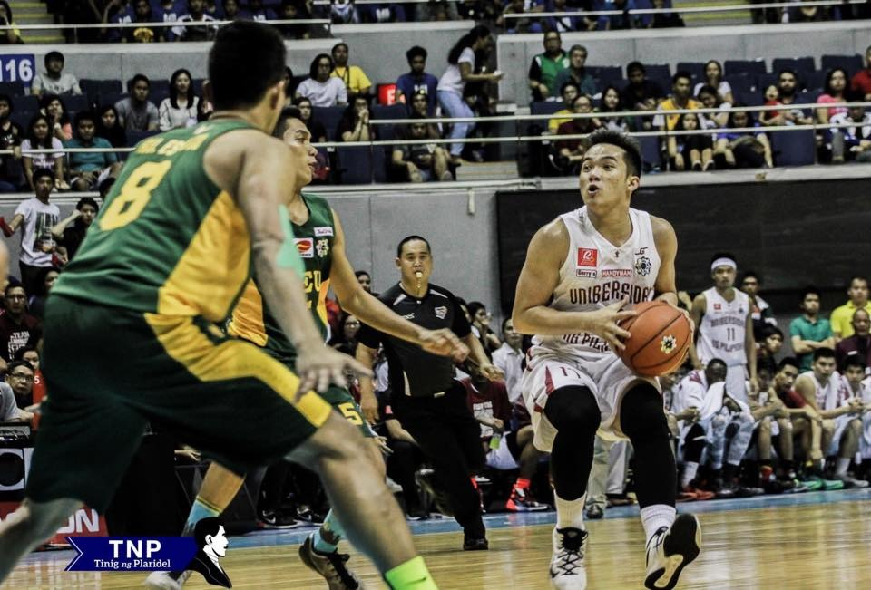 UP Fighting Maroons FEU Tamaraws Paul Desiderio Men's Basketball UAAP 78 TInig ng Plaridel