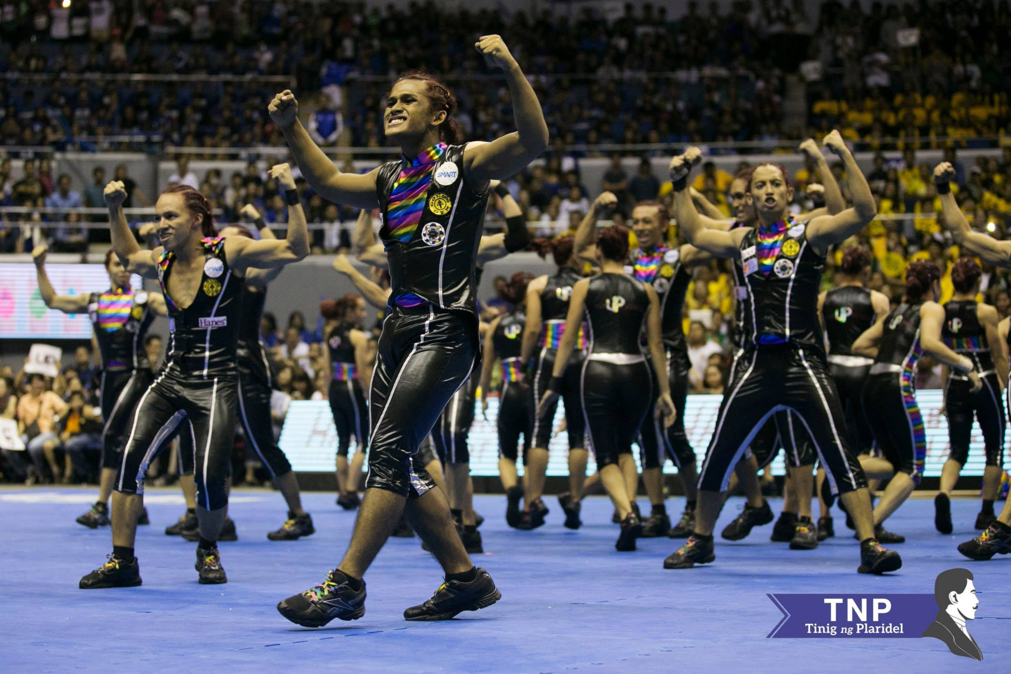 UP Pep Squad 2014 Equality LGBT Cheerdance Competition UAAP Season 77 78 File Photo by Patricia Nabong