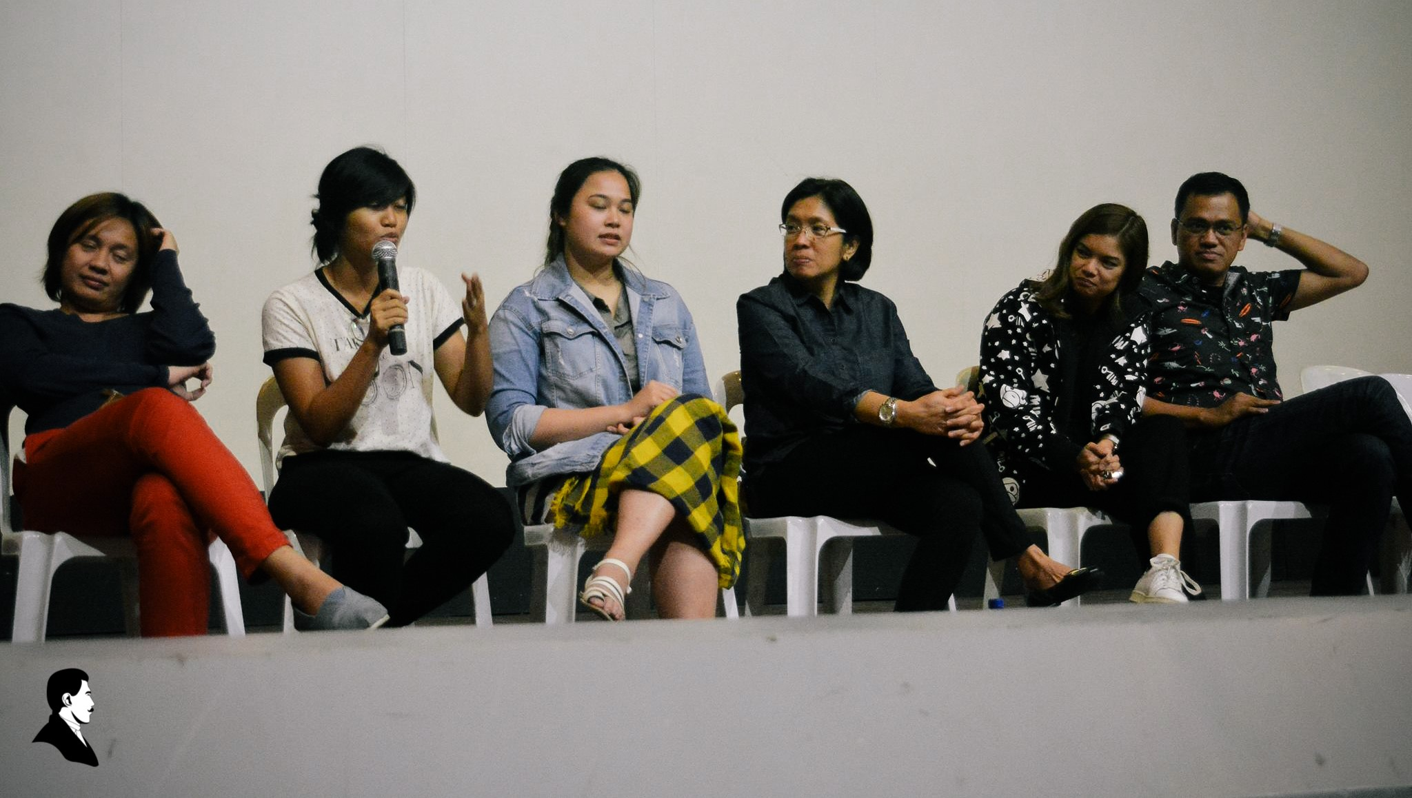 Directors of Honor Thy Father answered questions from the audience during the movie's showing at the UP Cine Adarna last Friday.
