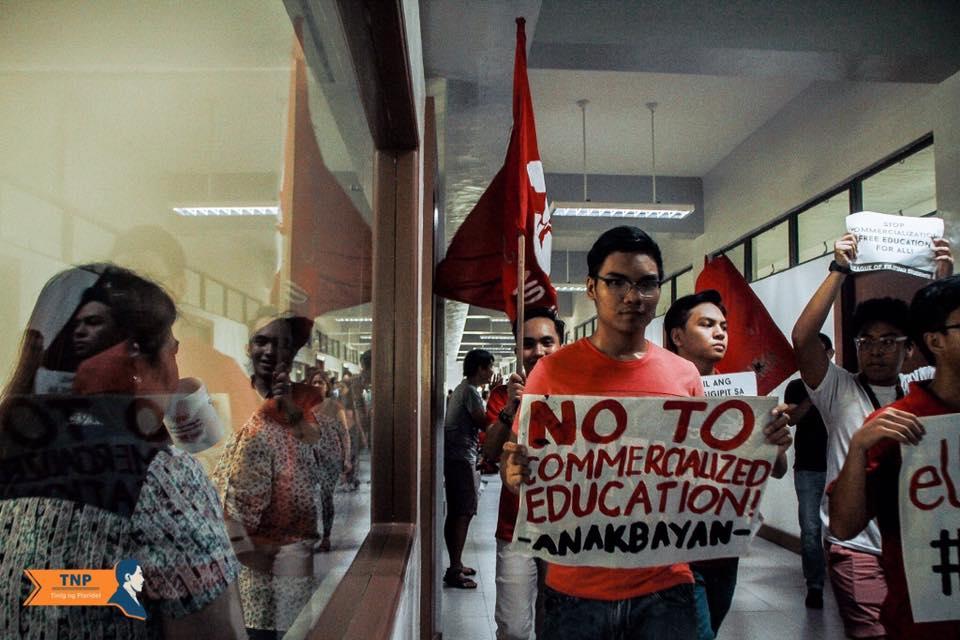 UP students stage system-wide protests against eUP, condemn anti-student policies