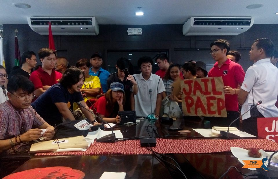 Students, workers storm Quezon Hall, protest UP anti-student, anti-labor policies