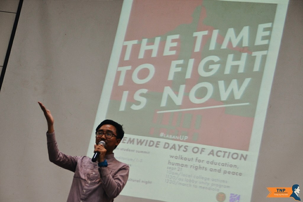 UPD student summit raises student mobilization success, collates student concerns