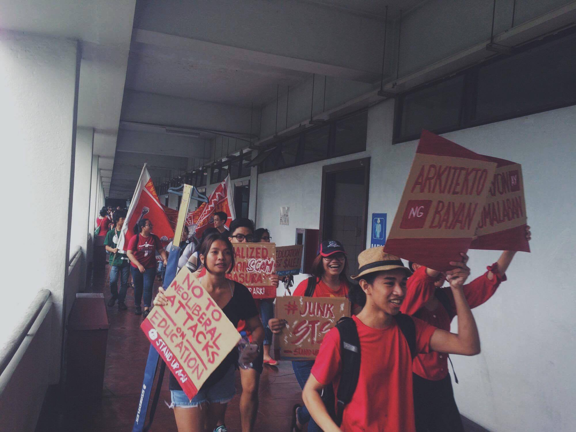Attacks on education, human rights prompt students' walkout on Martial Law anniversary