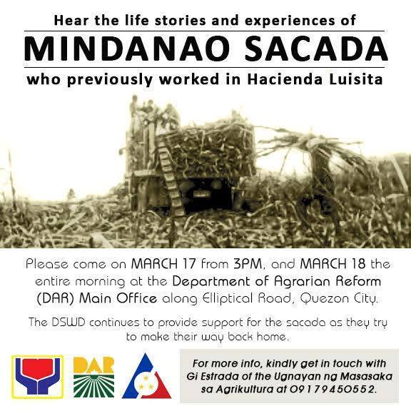 Sakadas continue fight against labor violations, seek support from government