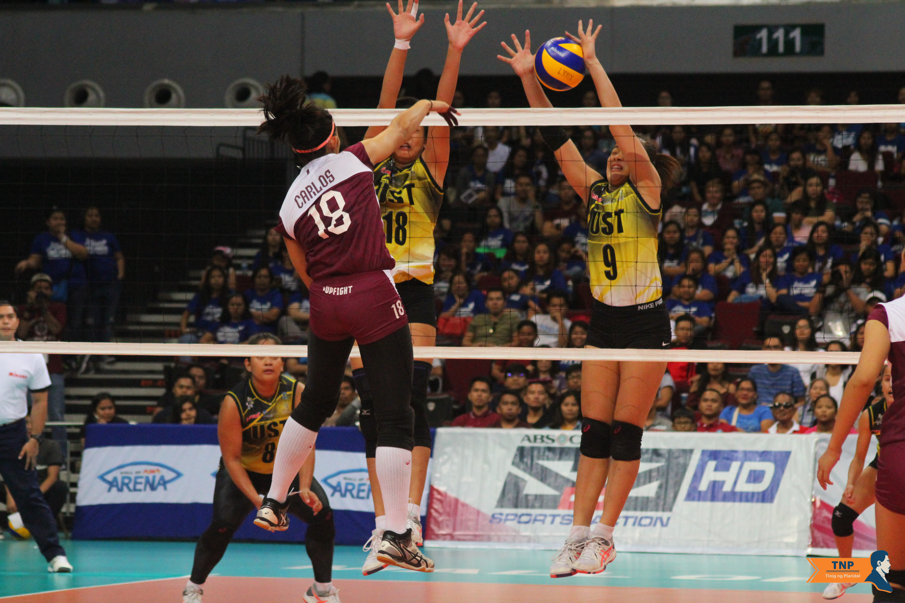 UP falls to UST in three sets, puts Final Four spot on the line