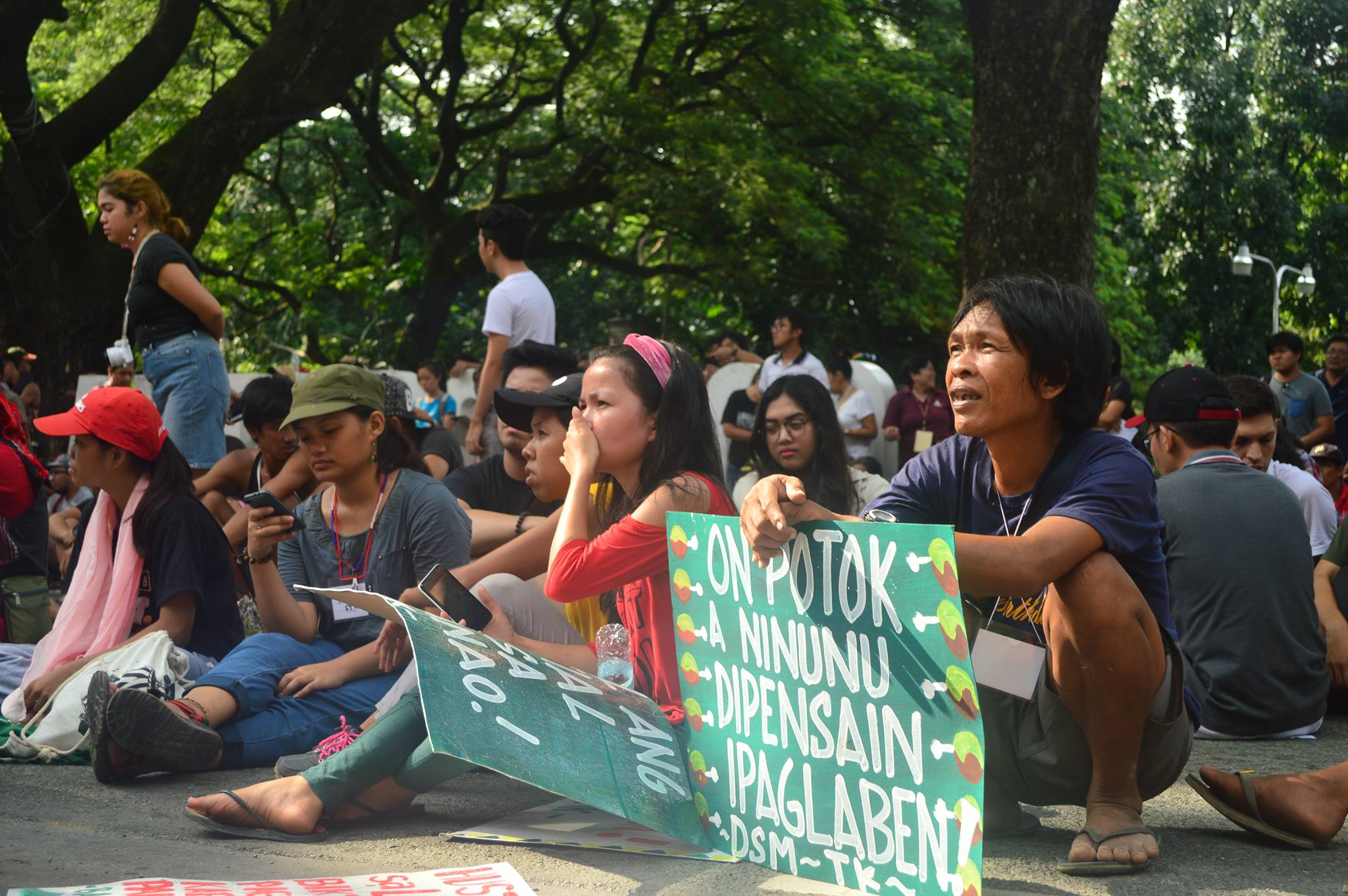 Lakbayanis, UP Diliman unite to end state-sponsored violence against nat'l minorities