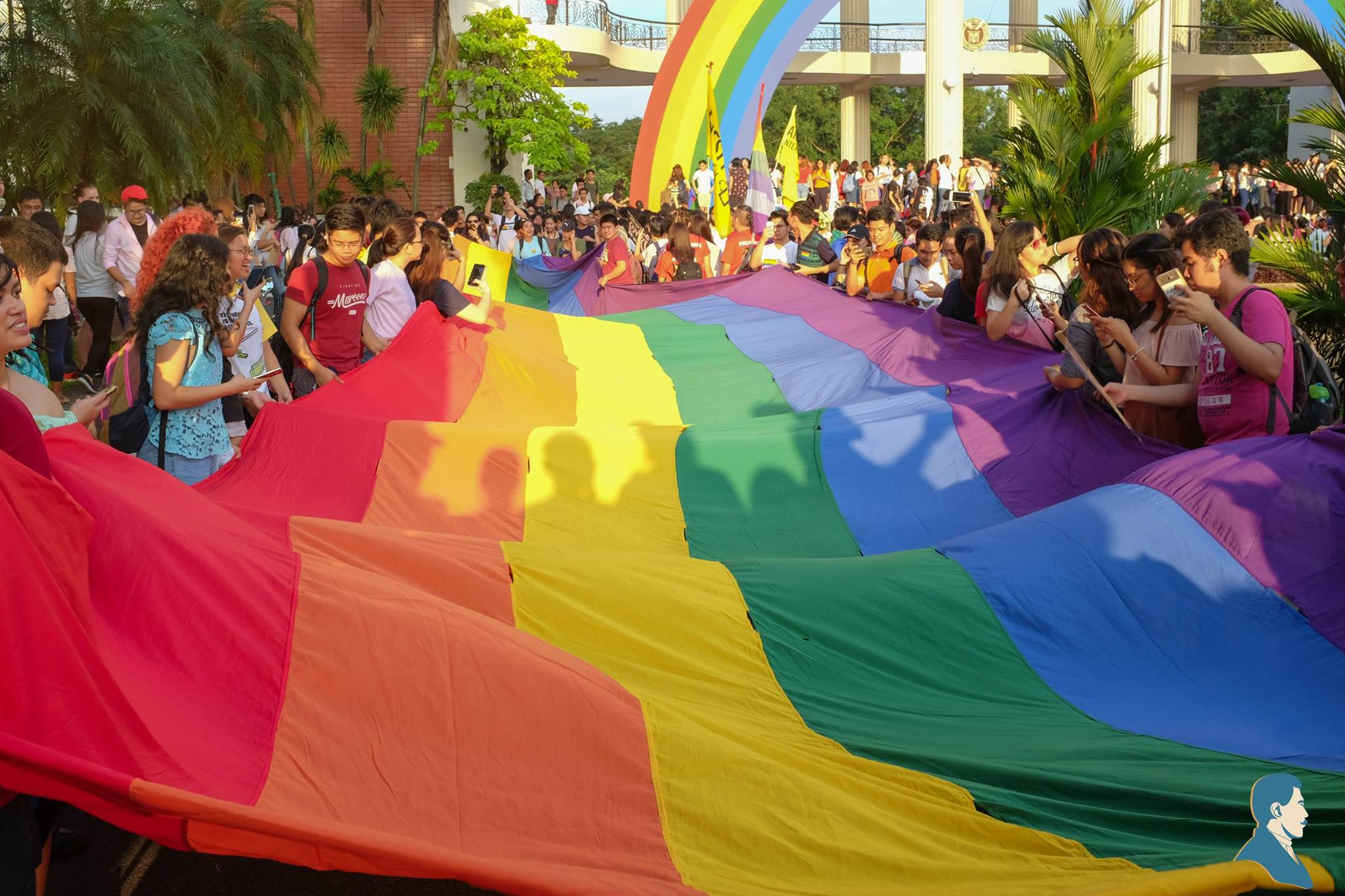 UP Pride 2017 soars to colorful heights, demands ADB passage