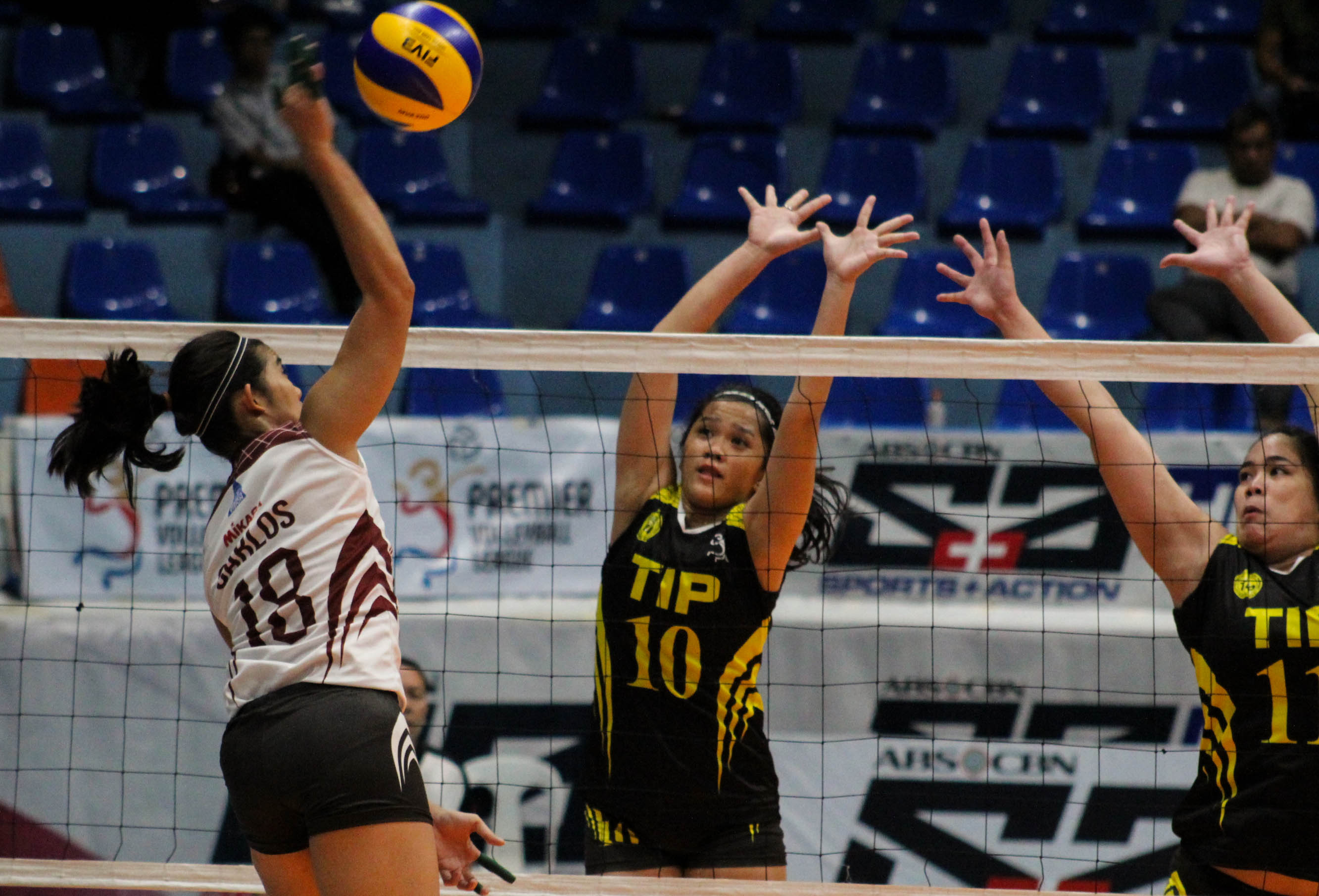 UP cruises past TIP for first win