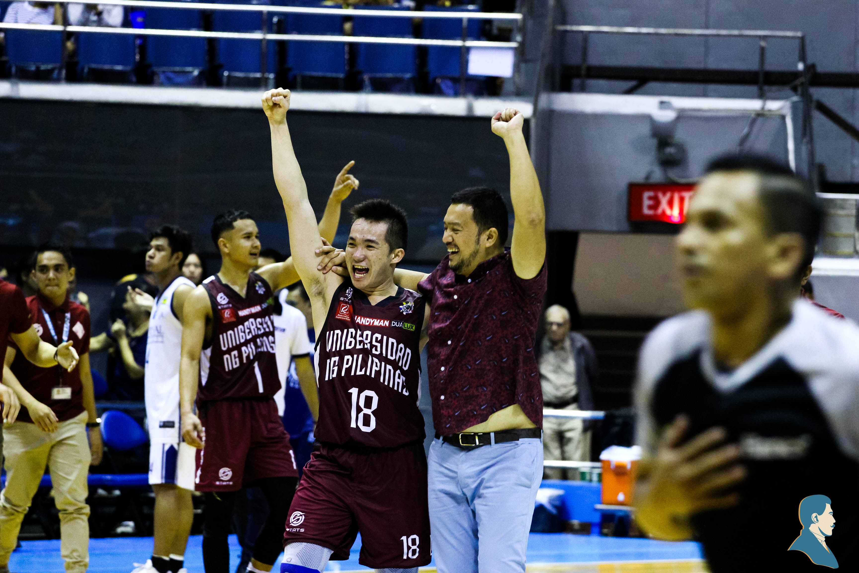 Hot-shooting Maroons score 106 against NU, end season with a bang