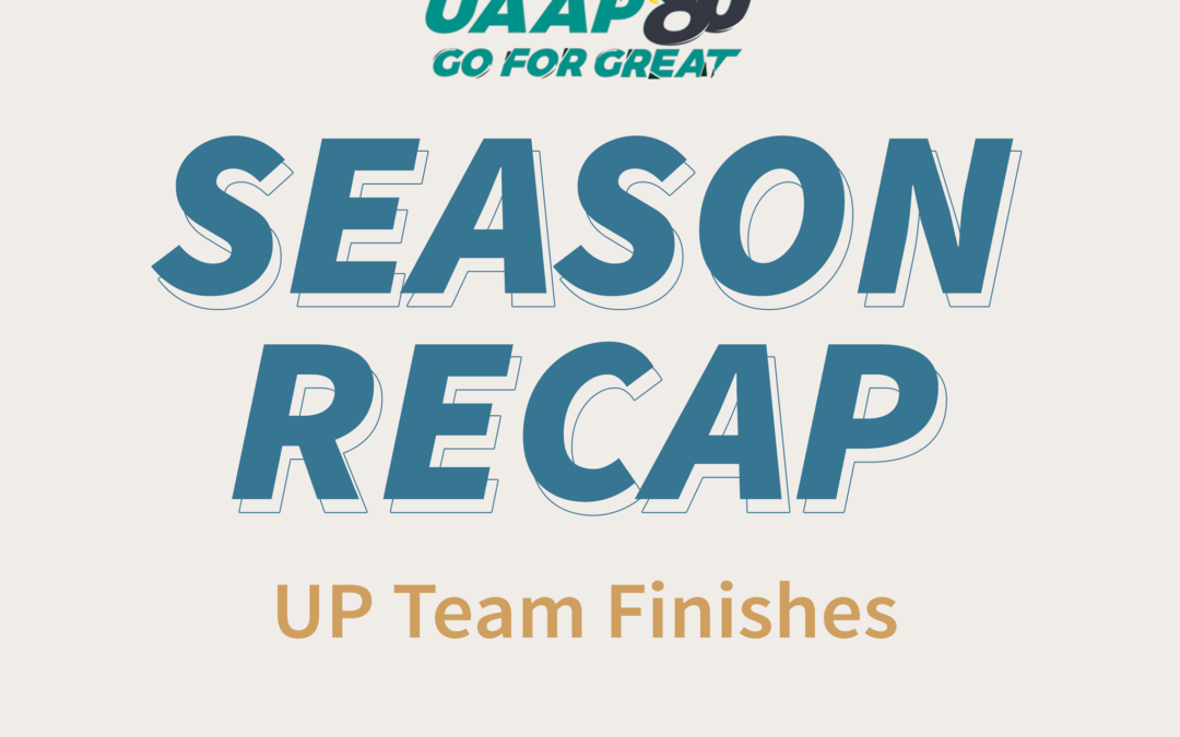 SEASON RECAP: UP team finishes for the 2nd semester